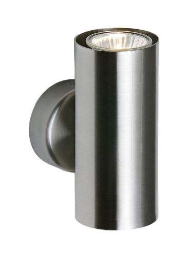 Satin nickel effect plate Wall Light OD51004 by Endon